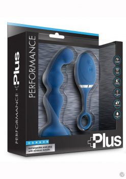 Performance Plus Cannon Anal Plug Blue