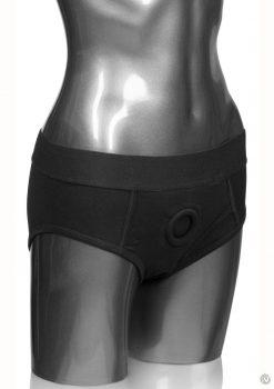 Packer Gear Black Brief Harness 2xl/3xl