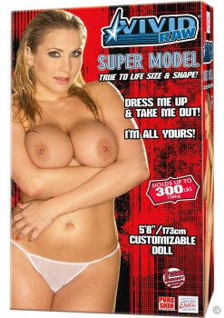 Vivid Raw Super Model Inflatable Vibrating Love Doll