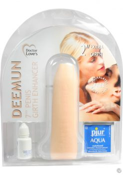 Doctor Loves Deemun Penis Girth Enhancer 7 Inch Flesh