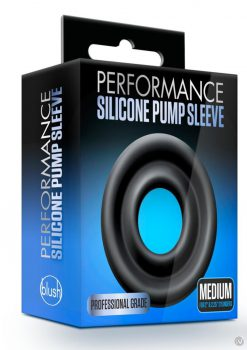 Performance Silicone Pump Sleeve Md Blk