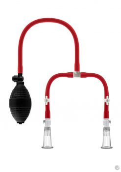 Temptasia Nipple Squeeze Pump Red