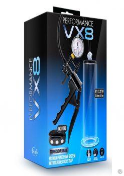Performance Vx8 Premium Penis Pump Clear