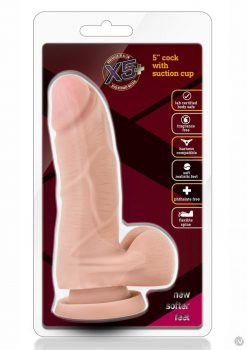 X5 Plus Cock W/suction Cup 5