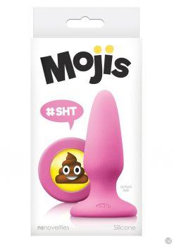 Mojis Sht Butt Plug Med Pink