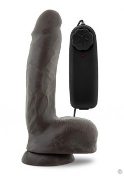 X5 Plus King Dong Vibe Cock Chocolate 8 Remote Control