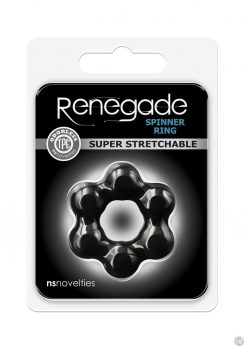 Renegade Spinner Ring Black