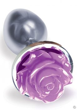 The 9 Silver Starter Rose Steel Plug Prp
