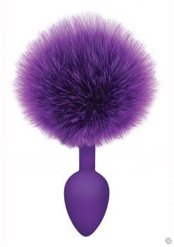 The 9 Cottontails Bunny Tail Plug Purple