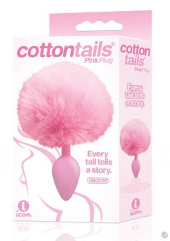 The 9 Cottontails Bunny Tail Plug Pink