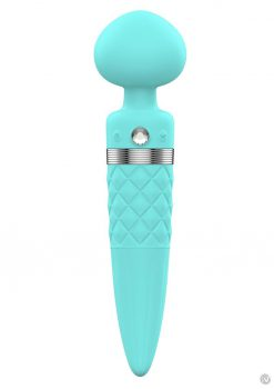 Pillow Talk Sultry Massager Wand Teal
