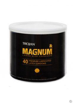 *special*trojan Magnum 40/bowl