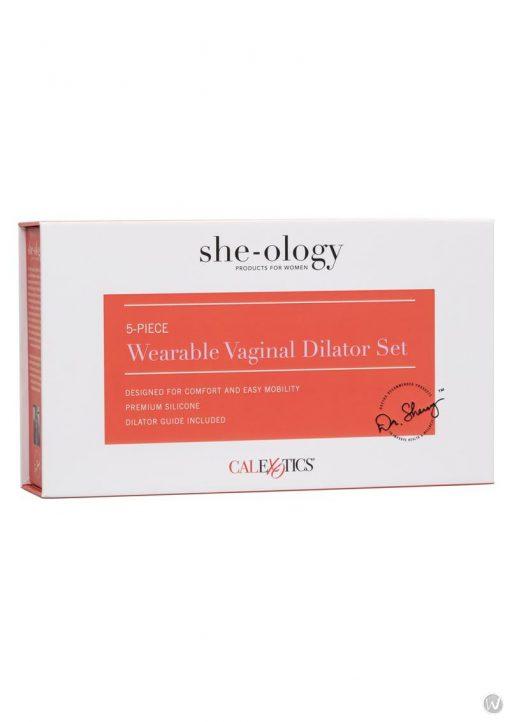 She-ology Wearable Vaginal Dialator 5pc