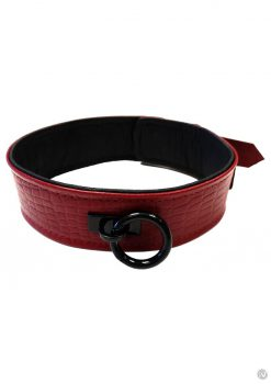 Rouge Anaconda Collar Burg/blk