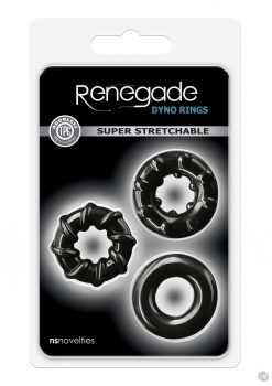 Renegade Dyno Rings Black