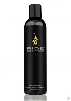 Ride Bodyworx Booty Buzz Stimulating Silicone Lubricant 8.5 Oz