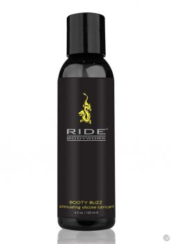 Ride Bodyworx Booty Buzz Stimulating Silicone Lubricant 4.2 Oz