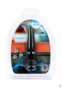 T4m Silicone Anal Plug Small Black