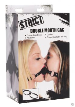 Strict Double Mouth Gag