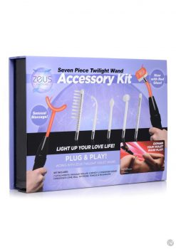 Zeus Twilight Wand Accessory 7pc Kit