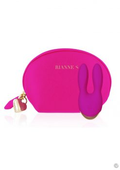 Rianne S Bunny Bliss Deep Multi Speed Multifunction Vibrator Rechargeable Waterproof Rose