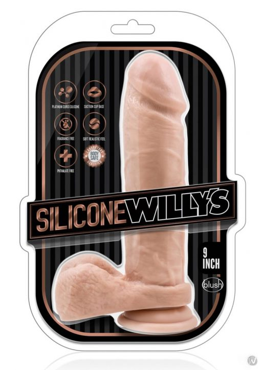 Silicone Willy 9 Dildo W/suction Van