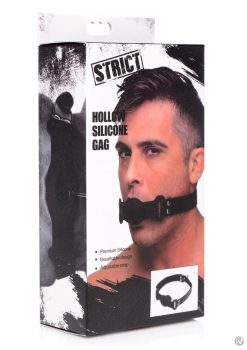 Strict Hollow Silicone Gag