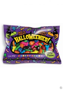 HalloWeenies! Multi Color Candies 120 Pieces Per Bag 3 Ounce Bags