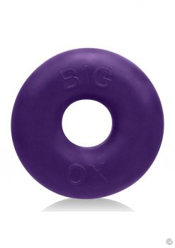 Big Ox Cockring Eggplant Ice