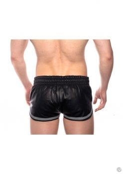 Prowler Red Leather Sport Shorts Gry Lg