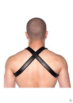 Prowler Red Cross Harness Blk S/m
