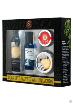 Tasty Travel Pinapple Gift Set