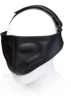Kink Leather Blinding Mask Adjustable Black