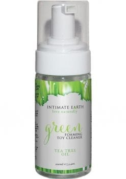 Intimate Earth Green Foaming Toy Cleaner Tea Tree Oil 3.4oz