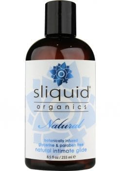 Sliquid Organics Natural Botanically Infused Intimate Glide 8.5 Ounce
