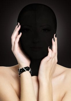 Ouch! Subjugation Mask Black