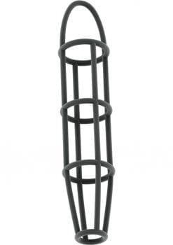 Sono No 30 Silicone Cock Cage With Ball Strap Grey