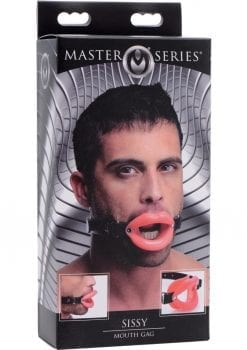 Master Series Sissy Mouth Gag Silicone