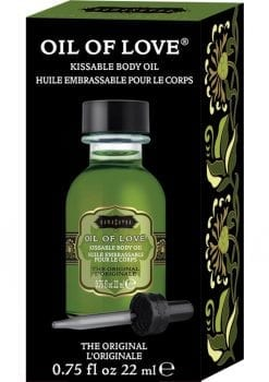 Oil Of Love Kissable Body Oil The Original .75 Ounce