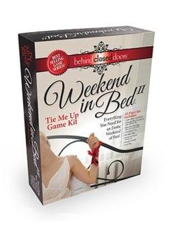 Weekend in Bed II Tie Me Up Edition Bondage Play Kit