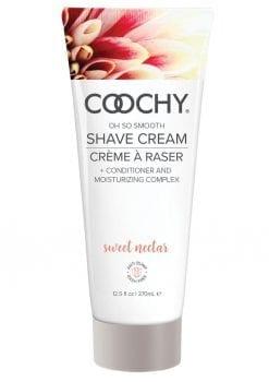 Coochy Oh So Smooth Shave Cream Sweet Nectar 12.5 Ounce