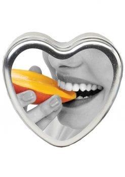 Edible Tropical Vegan Candle Mango- 4 oz