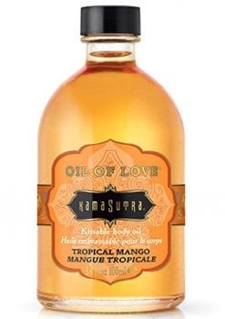 Oil Of Love Kissable Body Oil Tropical Mango .75 Ounce