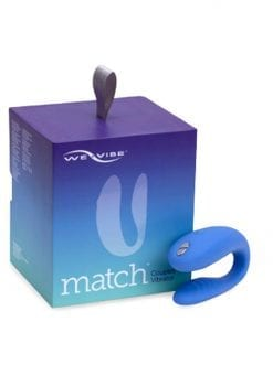 We-Vibe Match Silicone Couples Wireless Remote Controll USB Rechargeable Vibrator Waterproof Periwinkle