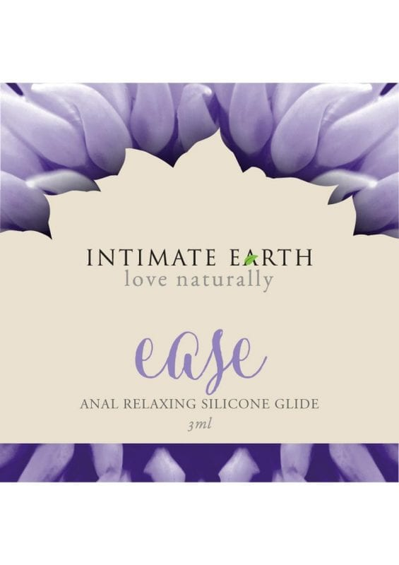 Intimate Earth Ease Anal Relaxing Silicone Glide 3ml