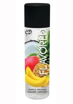 Fun Flavors Water Based Flavored Lubricant Tropical Explosion 3 Ounces