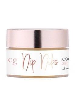CG Nip Nibs Cooling Arousal Balm Sin City Strawberry .5 Ounce Jar