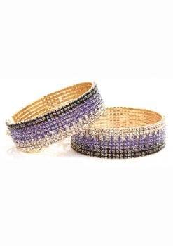 Rianne S Diamond Cuffs Liz 5.9 Inches