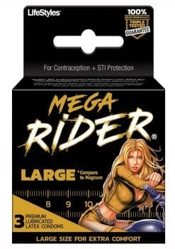 Mega Rider 3`s Condoms