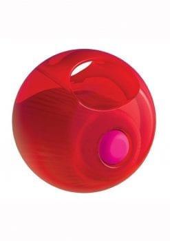 Rock Candy Gummy Balls Red Finger Vibrator